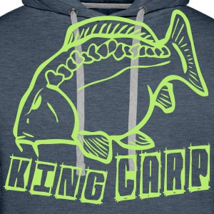 king carp1 Hoodies & Sweatshirts - Men's Premium Hoodie