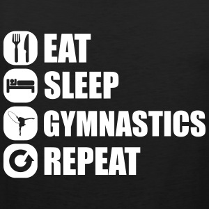 eat_sleep_gym_repeat_1_1f Singlets - Premium singlet for menn