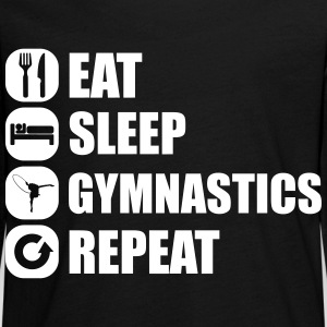 eat_sleep_gym_repeat_1_1f Manches longues - T-shirt manches longues Premium Ado