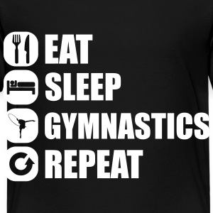 eat_sleep_gym_repeat_1_1f Tee shirts - T-shirt Premium Enfant