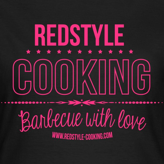 Barbecue with Love Ladies Shirt
