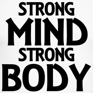 Strong Mind - Strong Body Long sleeve shirts - Men's Long Sleeve Baseball T-Shirt