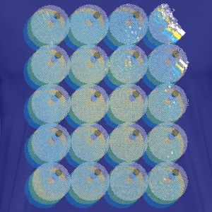 psychodelic bubble Party-Shirt by BLUE STAR SHAKER - Männer Premium T-Shirt
