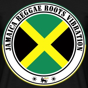 jamaica reggae roots vibration Tee shirts - T-shirt Homme