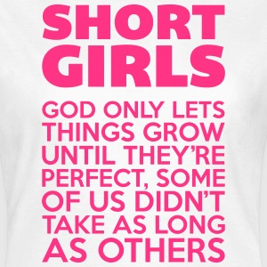 Short Girls  T-shirts - T-shirt dam