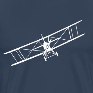 Doppeldecker Flugzeug