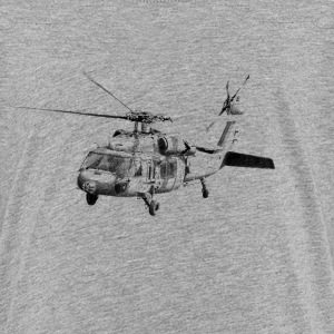 helicopter UH-60 Tee shirts - T-shirt Premium Ado