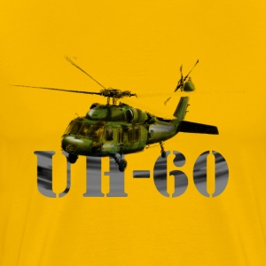 helicopter UH-60 Tee shirts - T-shirt Premium Homme