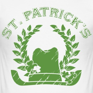 St Patrick's Day T-skjorter - Slim Fit T-skjorte for menn