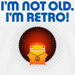 I m not old. I'm retro! T-Shirts - Men's Premium T-Shirt