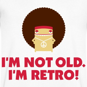 I m not old. I'm retro! T-Shirts - Men's V-Neck T-Shirt