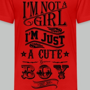 I'm not a girl I'm just a cute boy - Vintage