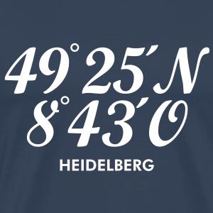 Heidelberg Koordinaten +