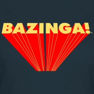 The Big Bang Theory Bazinga Dam T-Shirt - T-shirt dam