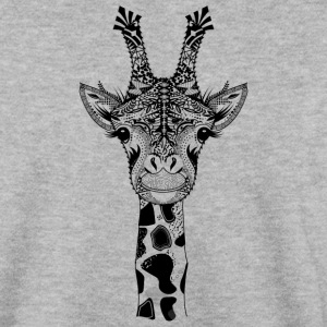 A la tête d'une girafe Sweat-shirts - Sweat-shirt Homme