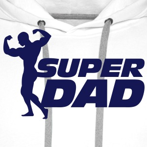 Super Dad Hoodies & Sweatshirts - Men's Premium Hoodie