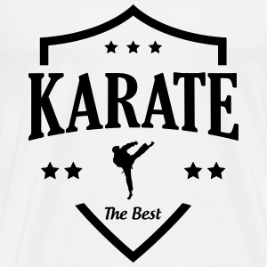 Karate / Karateka / Sport / Martial Art / Fighter Tee shirts - T-shirt Premium Homme