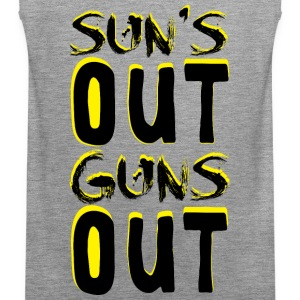 Guns Out Tank Tops - Men's Premium Tank Top