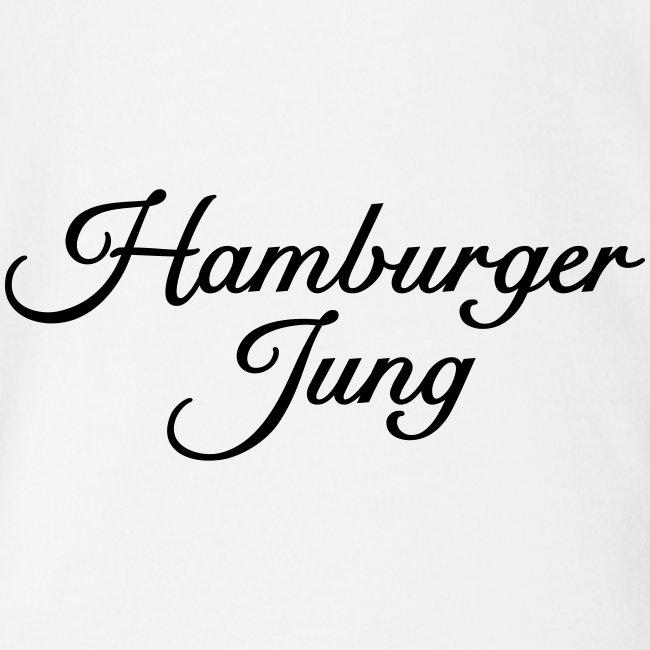 Hamburger Jung Classic (Schwarz) Babybody