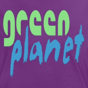 GREEN PLANET T-Shirts - Frauen Kontrast-T-Shirt
