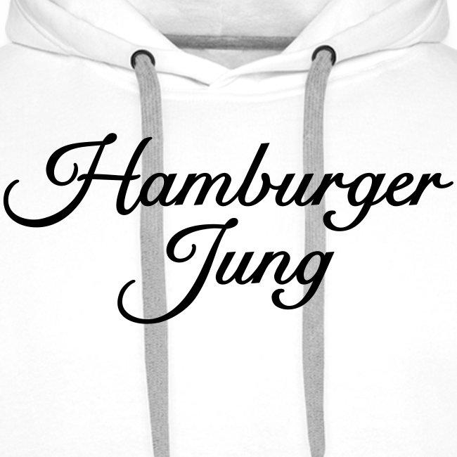 Hamburger Jung Classic (Schwarz) Hoodie
