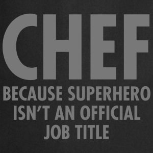 Chef - Superhero  Aprons - Cooking Apron