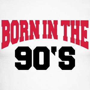 Born in the 90's Long sleeve shirts - Men's Long Sleeve Baseball T-Shirt