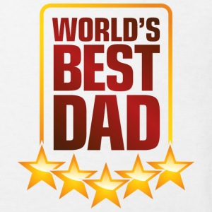 Best Father of the World Shirts - Kids' Organic T-shirt