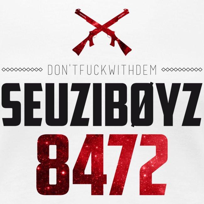 Don't Fuck With Dem! Shirt Schwarz/Rot/Weiss