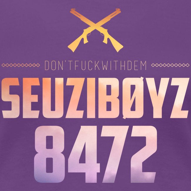 Don't Fuck With Dem! Shirt Yellow/Purple