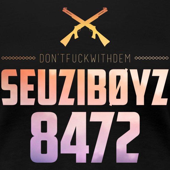 Don't Fuck With Dem! Shirt Gelb/Schwarz