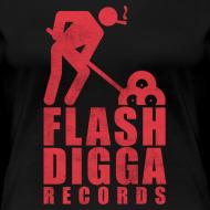 Motiv ~ Flashdigga Shirt Rot/Schwarz