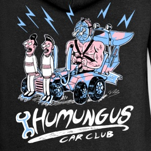 humungus car club Sweat-shirts - Veste à capuche Premium Femme
