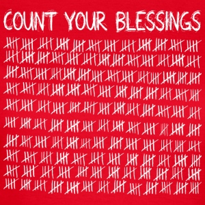 Count Your Blessings (dark) Tee shirts - T-shirt Femme