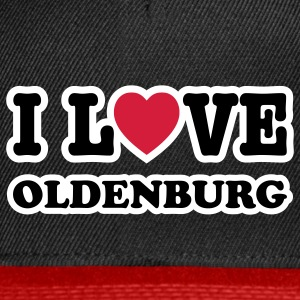 I LOVE OLDENBURG - Snapback Cap