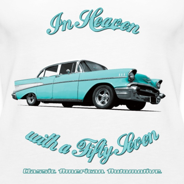 Women's Premium Tank Top | 57 Chevy Belair-2015  - Women's Premium Tank Top