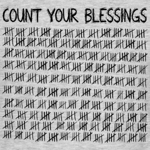 Count Your Blessings T-Shirts - Men's T-Shirt