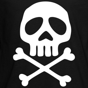 Skull and crossbones, pirate, anime, space captain Maglietta a maniche lunghe - Maglietta Premium a manica lunga per teenager