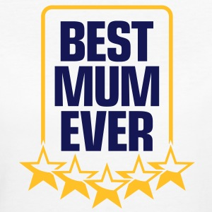 World s Best Mom! T-shirts - Vrouwen Bio-T-shirt
