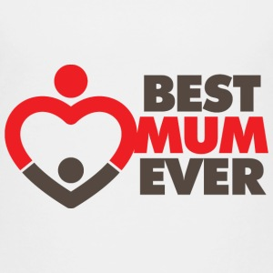 World s Best Mom! Shirts - Kinderen Premium T-shirt