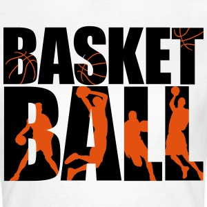 basketball 4_2c T-shirts - T-shirt dam