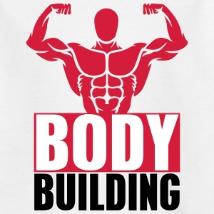 bodybuilding 7_3c T-Shirts - Kinder T-Shirt