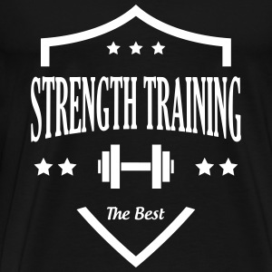 Strength Training - Bodybuilding Fitness  Muscle Tee shirts - T-shirt Premium Homme