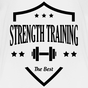Strength Training - Bodybuilding Fitness  Muscle Shirts - Kids' Premium T-Shirt