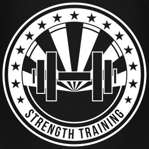 Strength Training - Bodybuilding Fitness  Muscle Shirts - Teenage Premium T-Shirt
