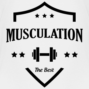 Musculation Fitness Force Sport Muscles Vintage Shirts - Teenage Premium T-Shirt