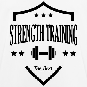 Strength Training - Bodybuilding Fitness  Muscle T-Shirts - Men's Breathable T-Shirt
