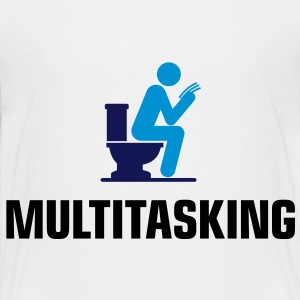Ich bin ein Multitasker! T-Shirts - Teenager Premium T-Shirt