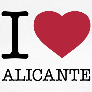 I LOVE ALICANTE - Frauen T-Shirt
