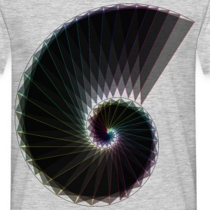 Spiral of life Dark - Men's T-Shirt